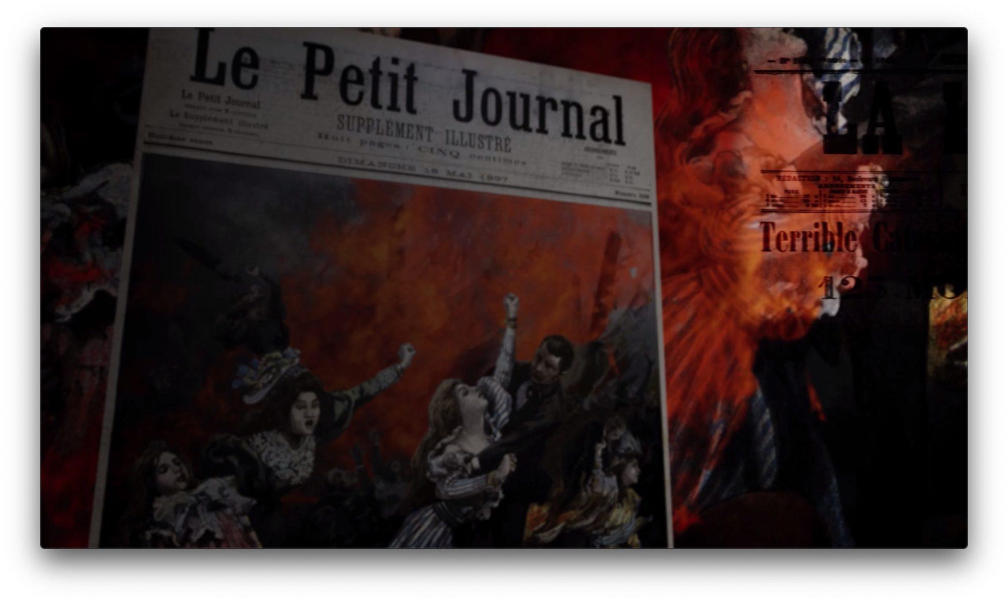 """""""La tragique histoire de l'incendie du Bazar de la Charité"""" de Dominique Eloudy-Lenys image documentaire"""