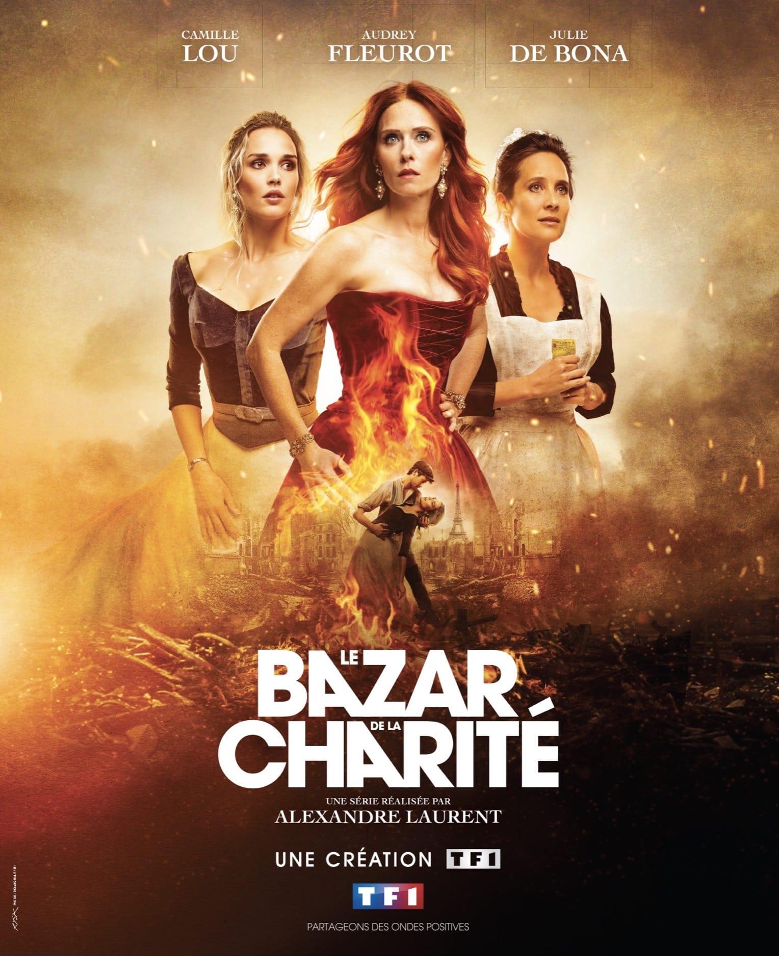 Le Bazar de la Charité de Catherine Ramberg et Karine Spreuzkouski affiche série télé