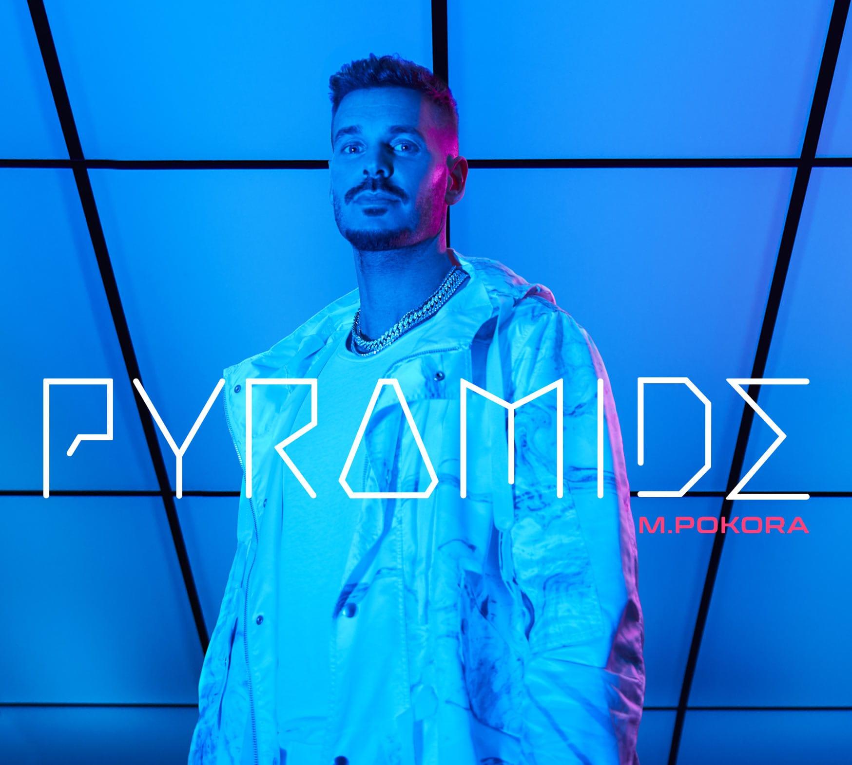 M. Pokora image pochette Cover album Pyramide réédition musique