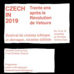 Czech-In Film Festival 2019 affiche