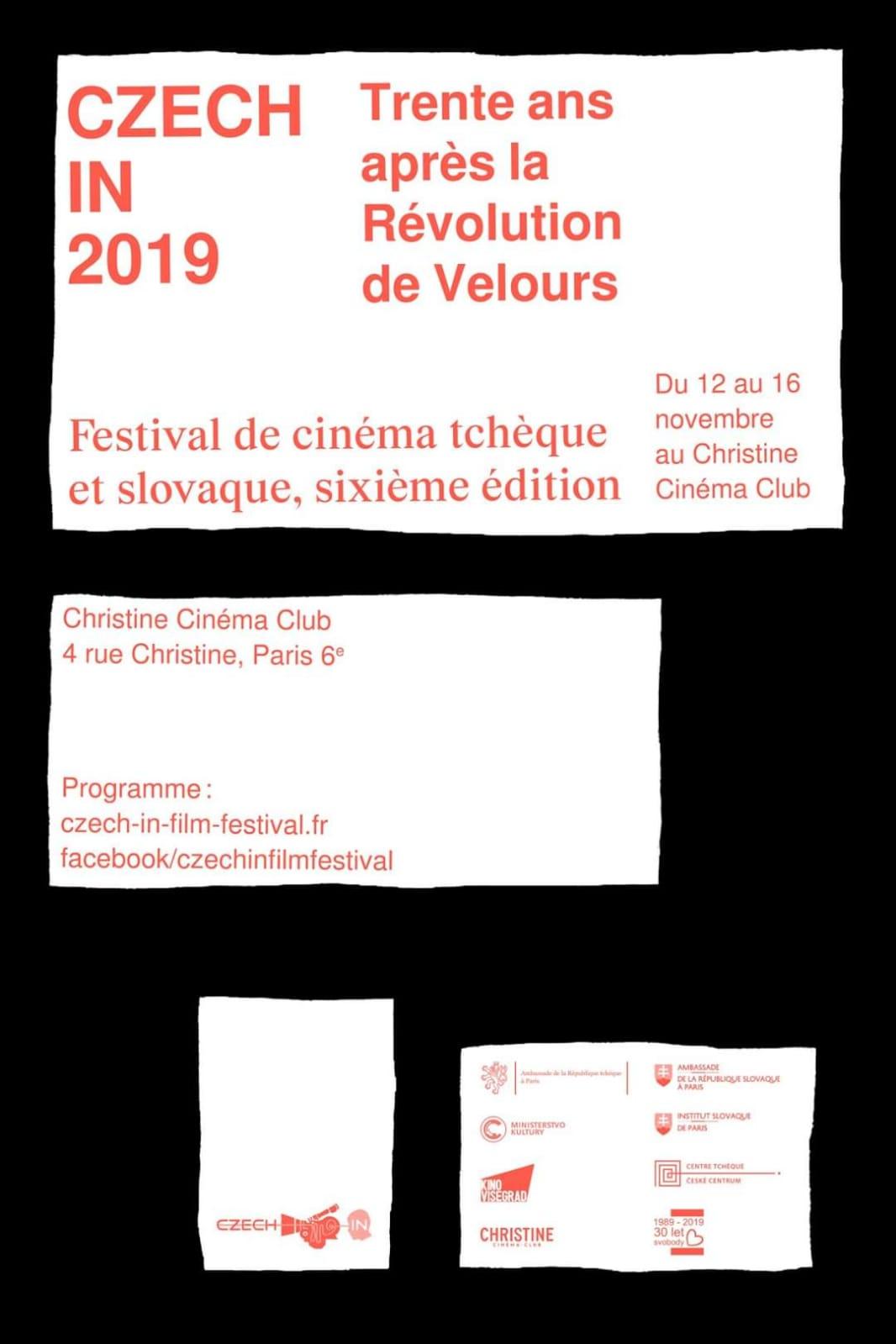 Czech-In Film Festival 2019 affiche