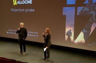 1917 - Sam Mendes avp Allociné Paris film cinéma