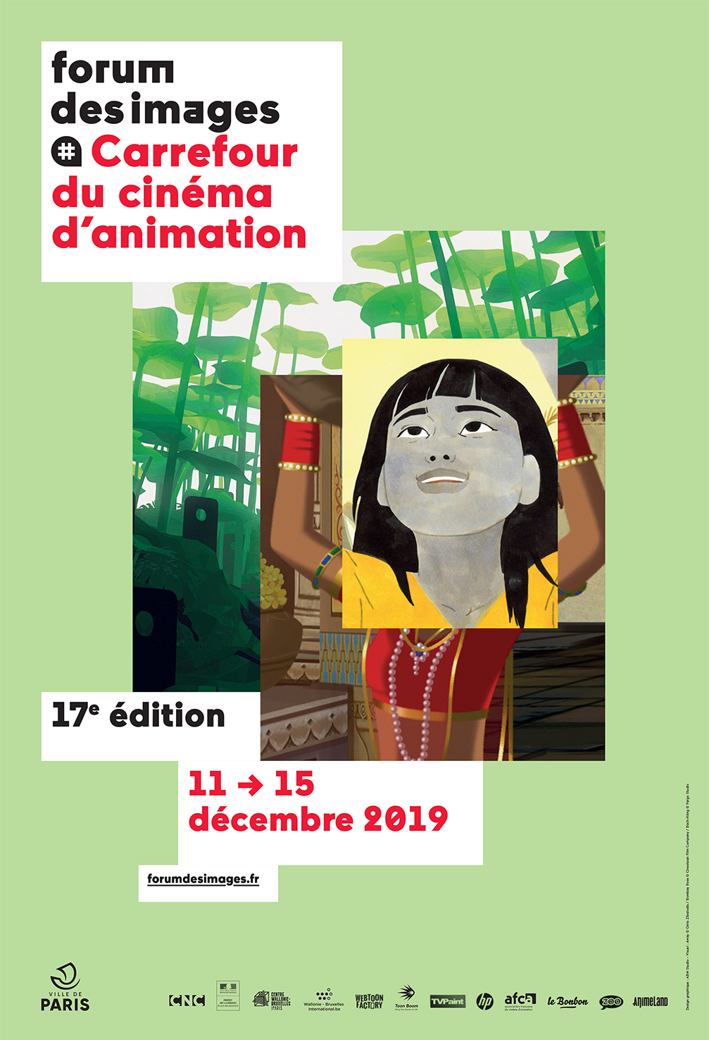 Carrefour du cinéma d'animation 2019 affiche
