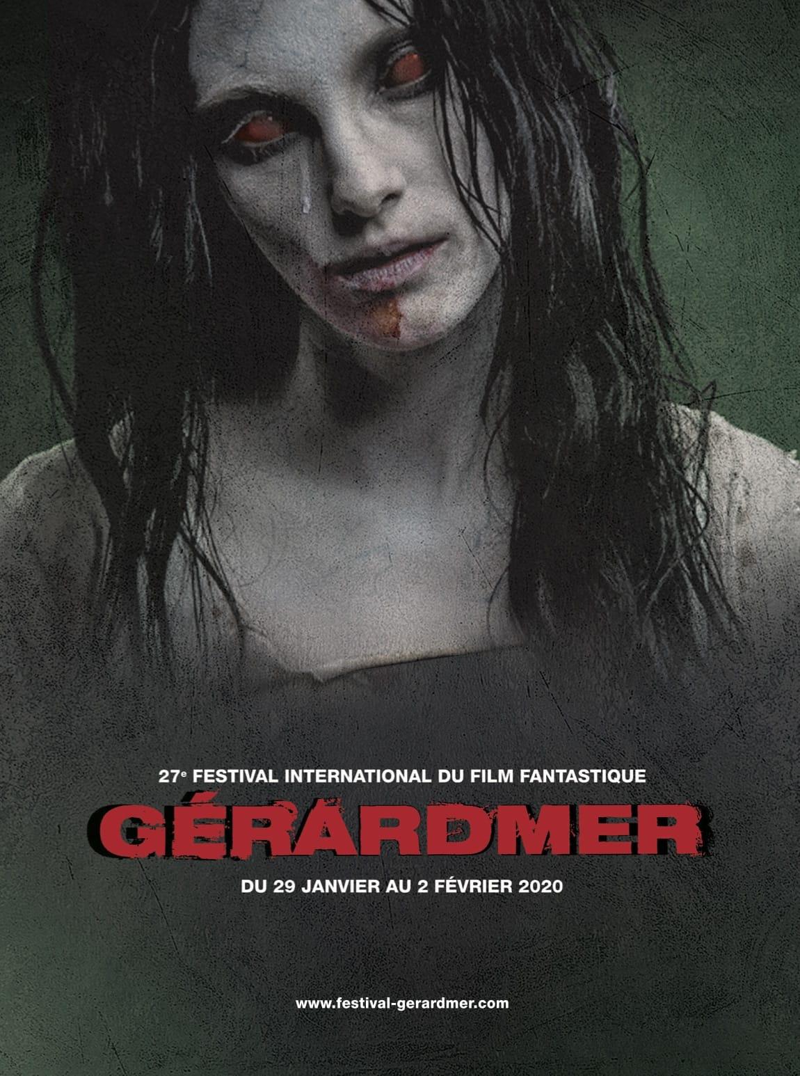 Festival International du Film Fantastique de Gérardmer 2020 affiche cinéma