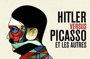 Hitler vs Picasso et les autres de Claudio Poli affiche documentaire
