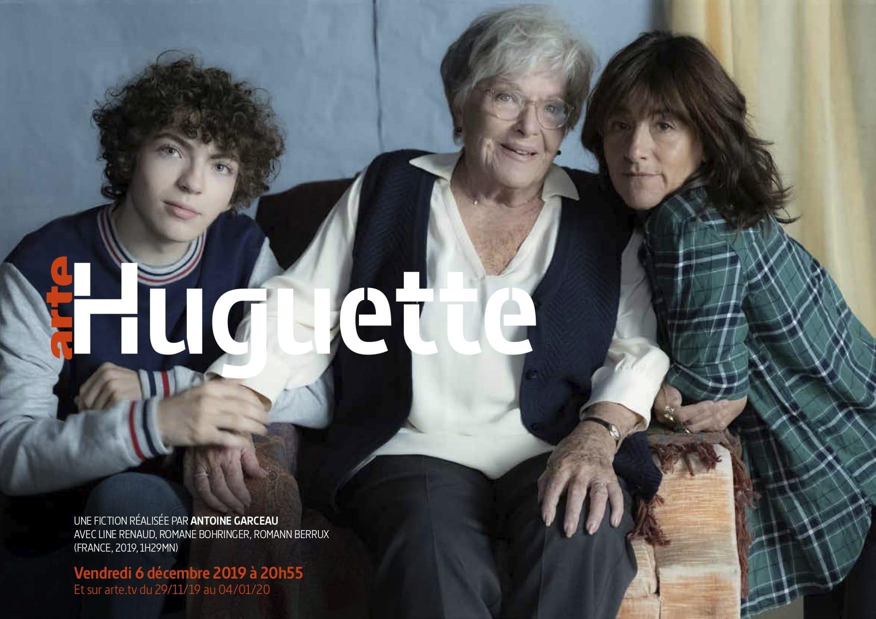 Huguette d'Antoine Garceau affiche téléfilm