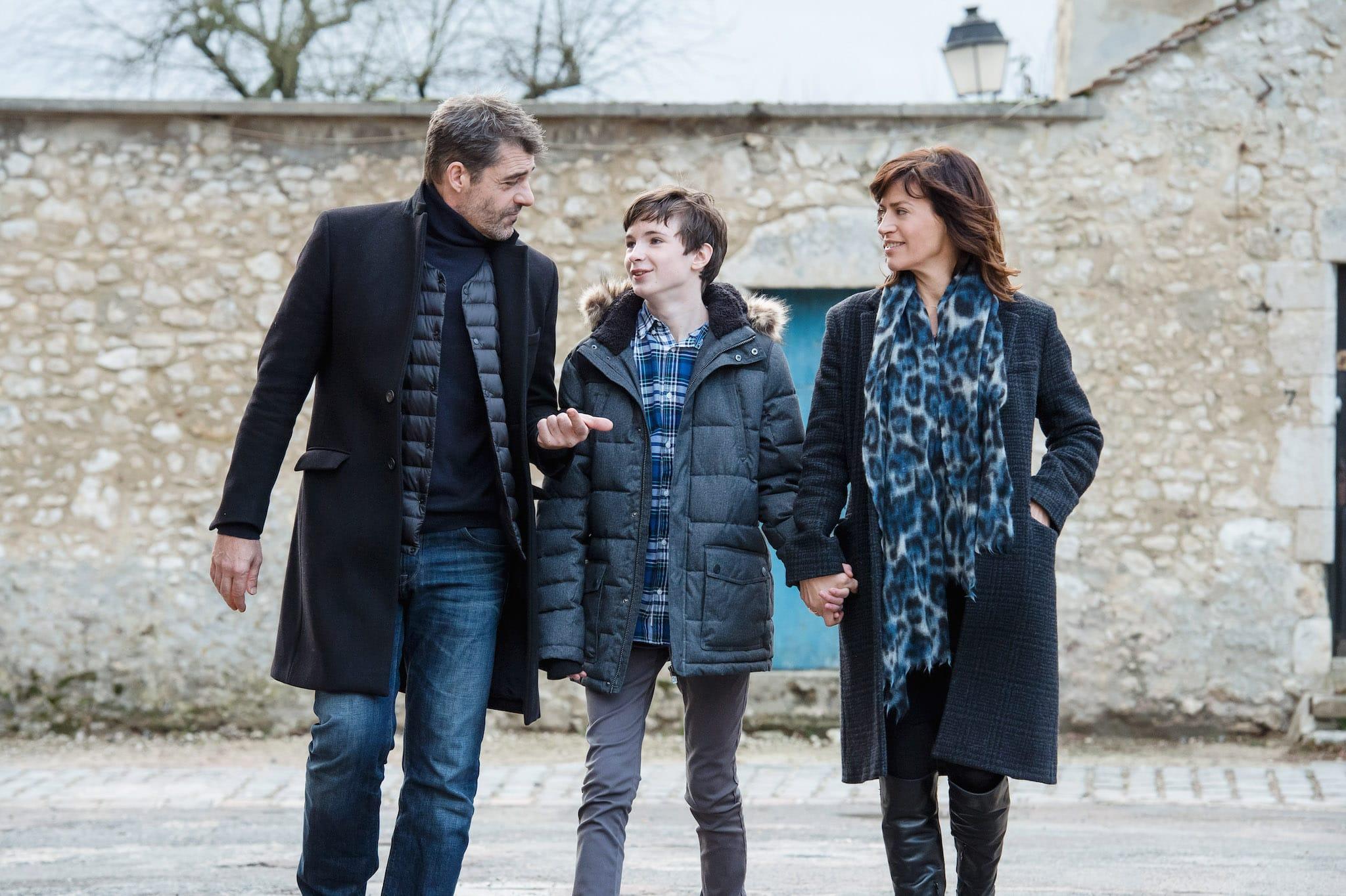 """TOURNAGE """"LA MALEDICTION DE PROVINS"""" REAL : OLIVIER DORAN Paris,FRANCE-DECEMBRE 2018"""