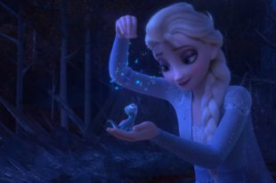La Reine des Neiges 2, frozen 2, disney, animation, bruni, salamander, elsa