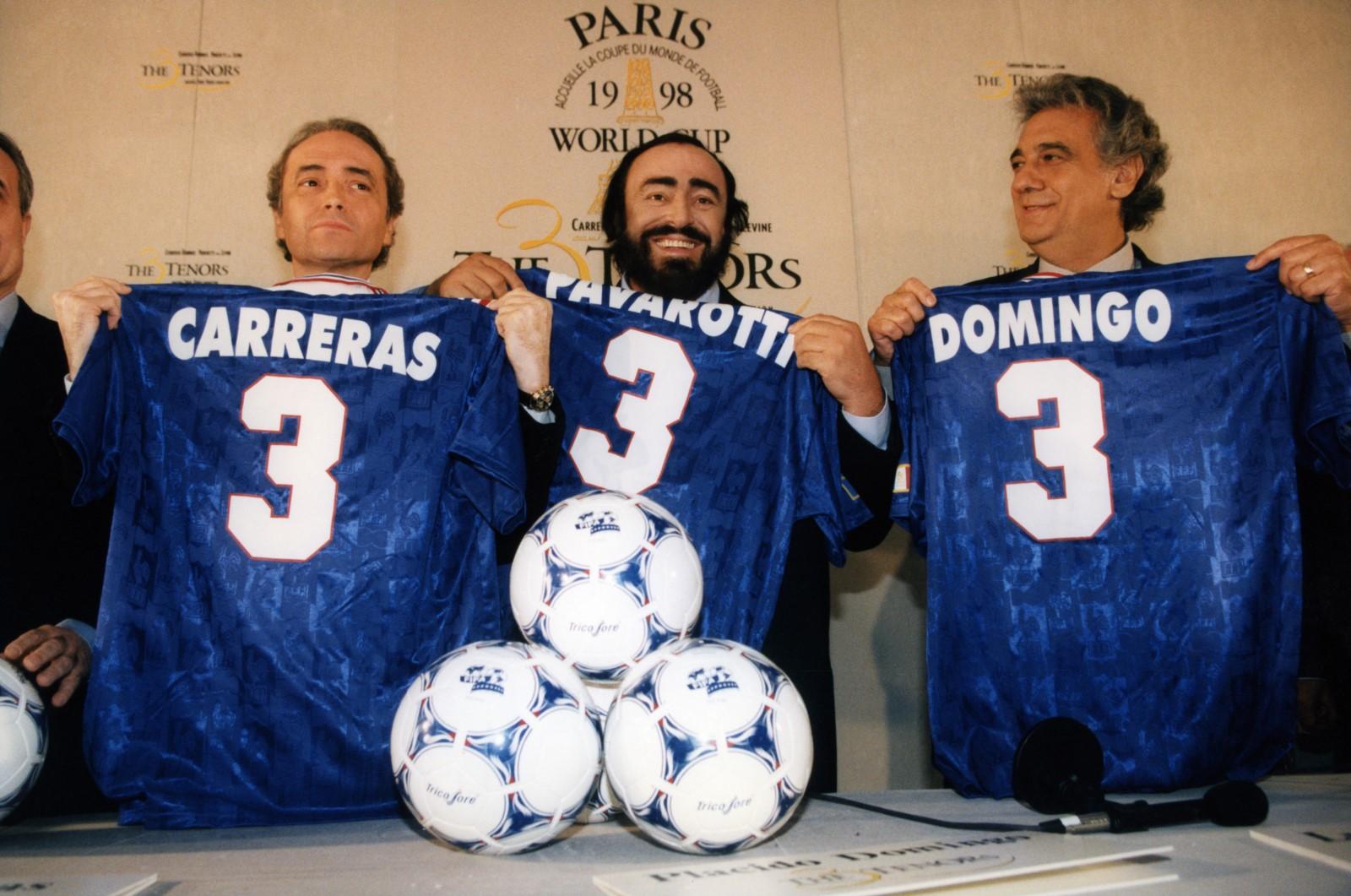 Pavarotti Photo José Carreras, Luciano Pavarotti, Plácido Domingo critique avis