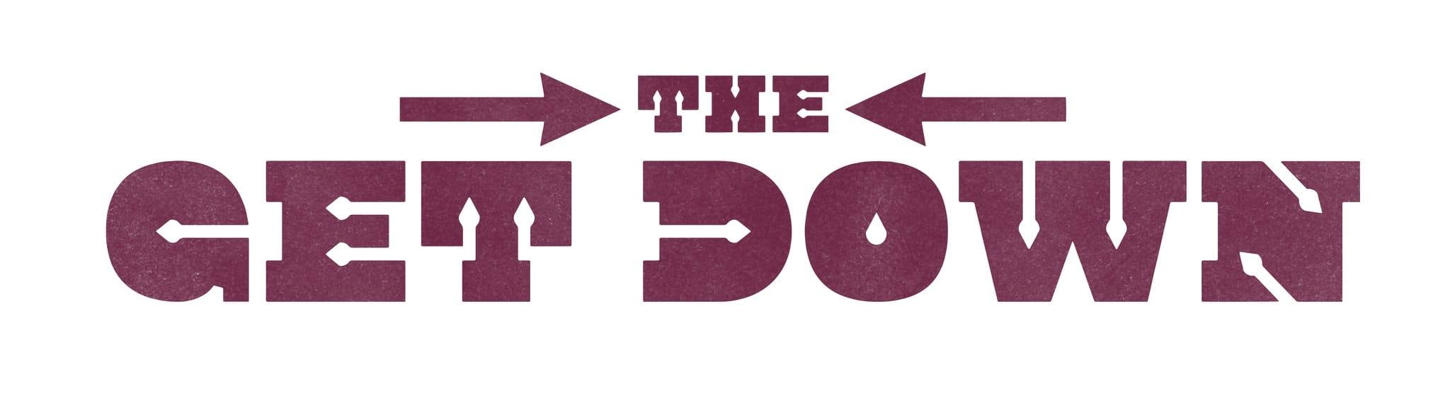 THE GET DOWN visuel logo série télé