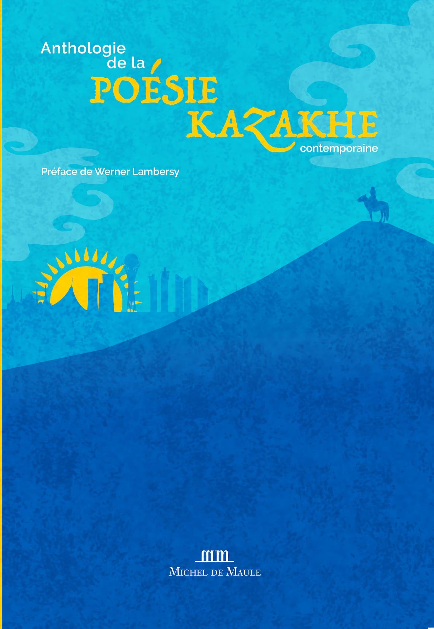 Anthologie de la poésie kazakhe contemporaine visuel