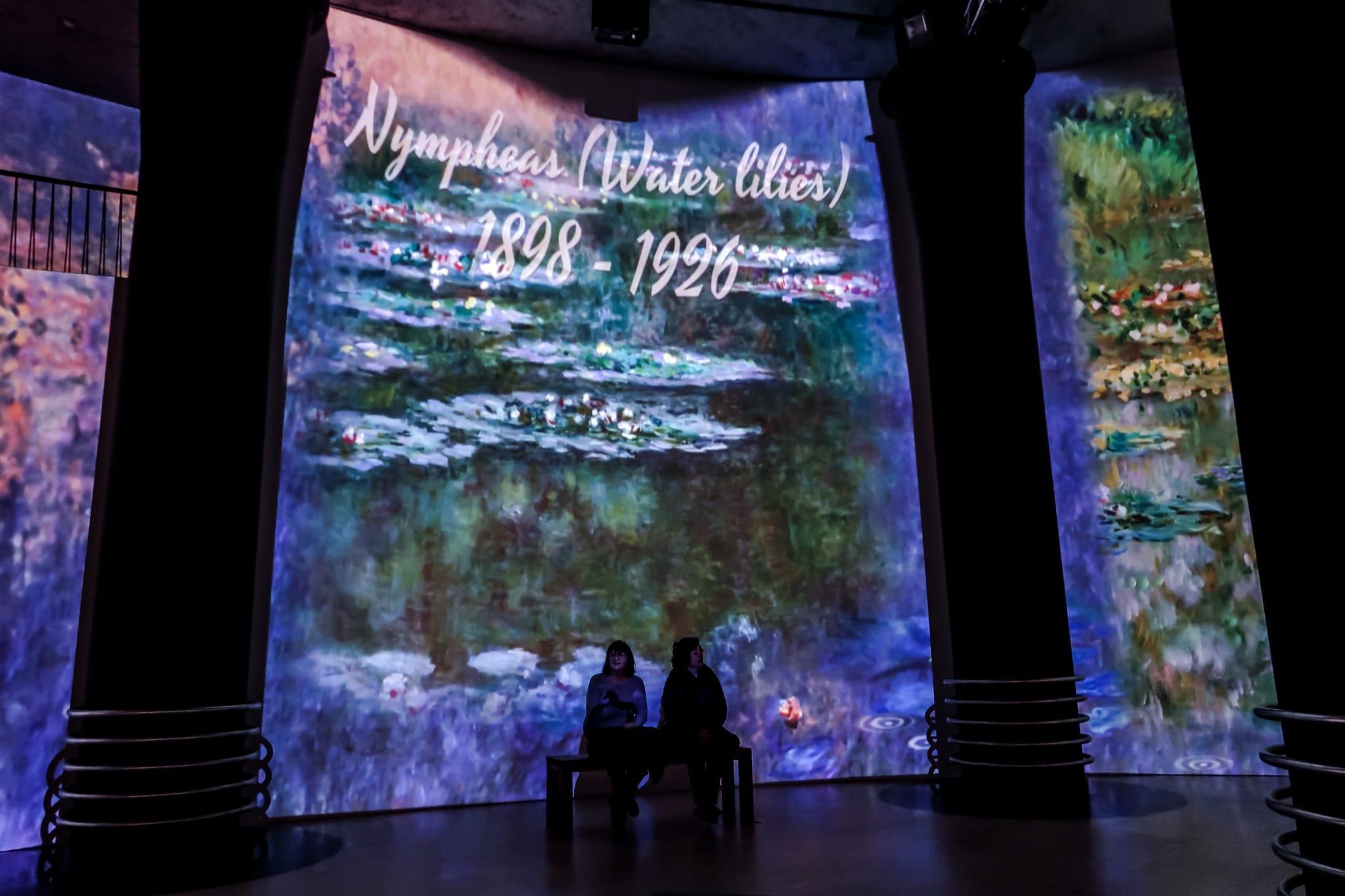 Claude Monet – The immersive Experience visuel exposition Bruxelles