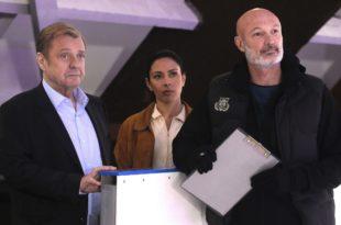 Commissaire Magellan épisode Du sang sur la glace image série