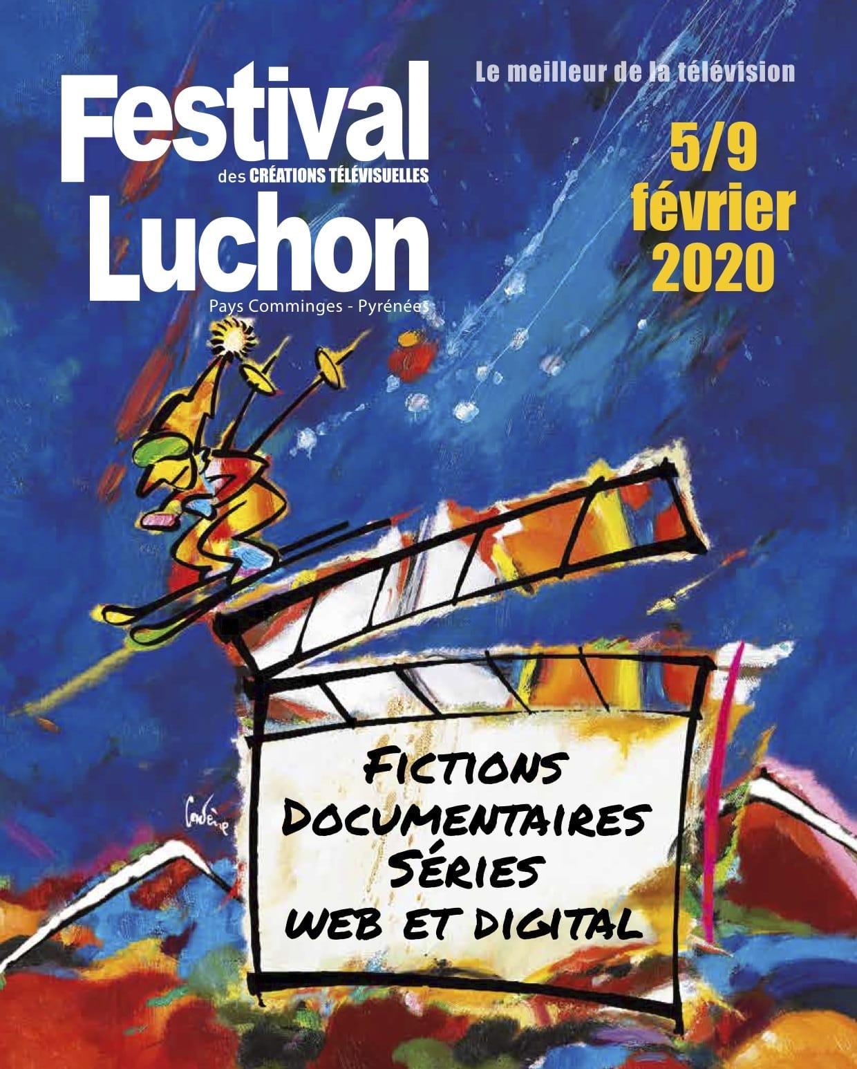Festival de Luchon 2020 affiche fictions, documentaires