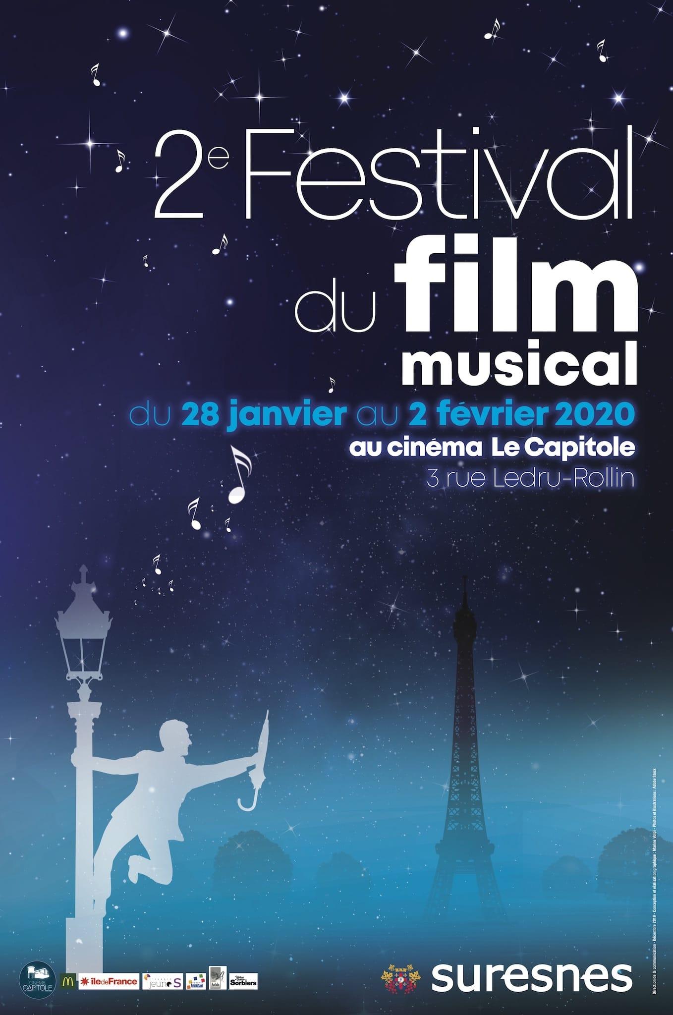 Festival du Film Musical 2020 affiche festival cinéma