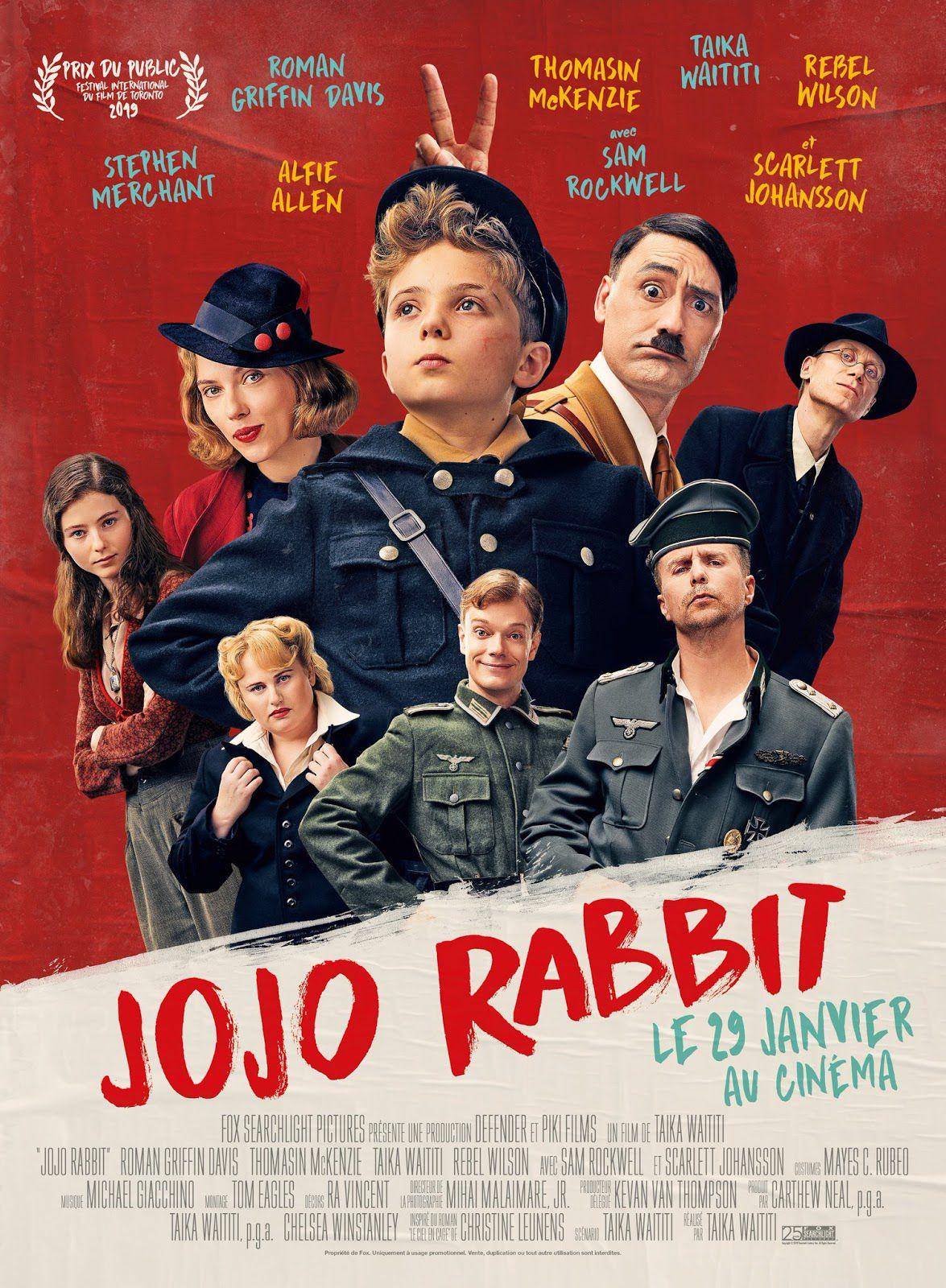 Jojo Rabbit critique film 2020 affiche