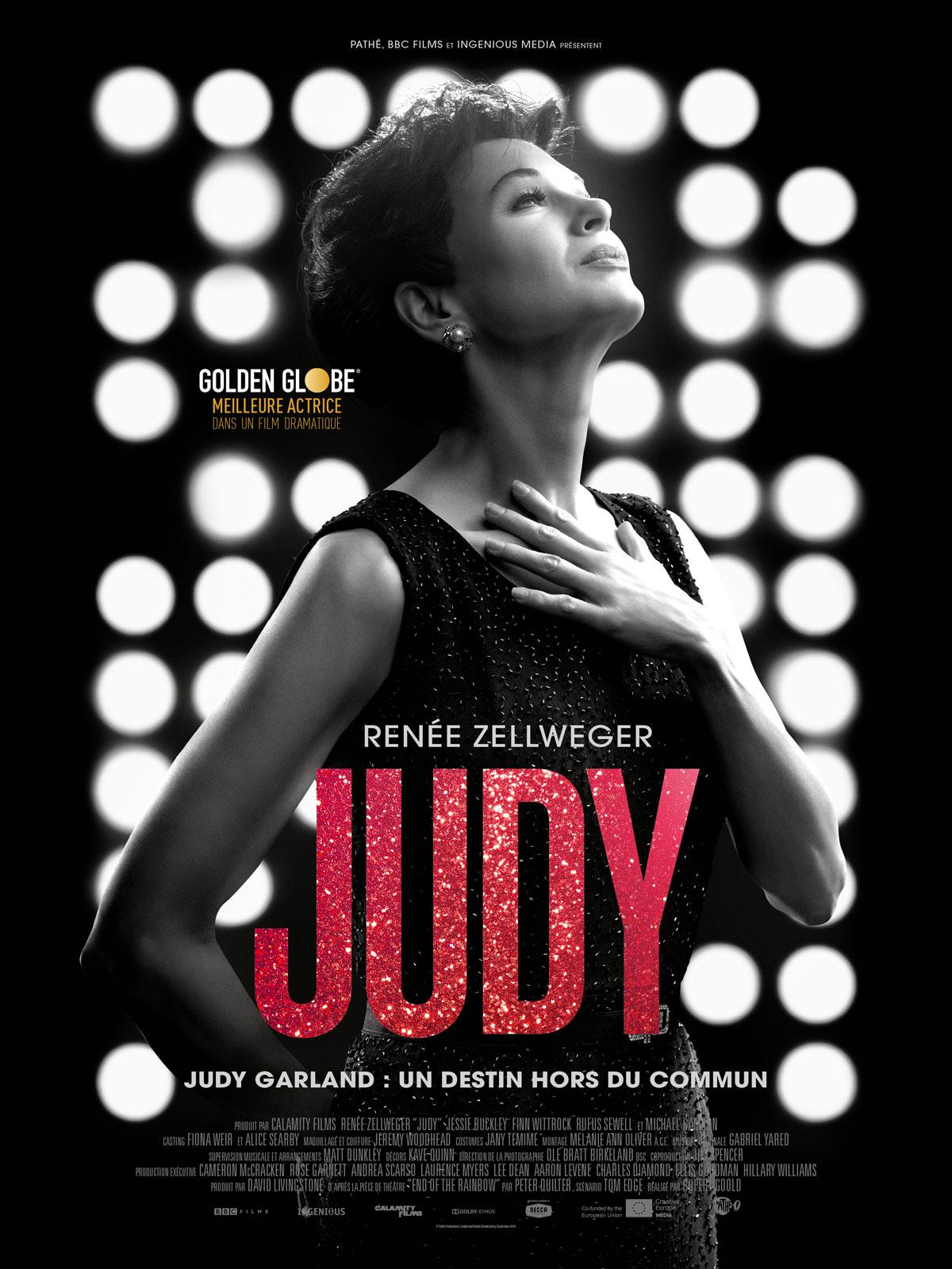 judy critique avis film affiche 2020