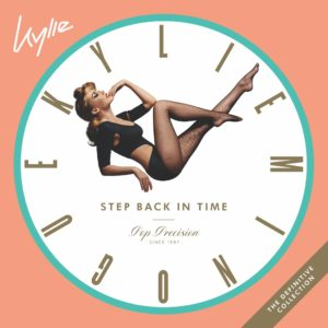 Kylie Minogue image pochette cover album Step Back in Time The Definitive Collection musique