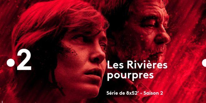 Les Rivières Pourpres saison 2 affiche série télé