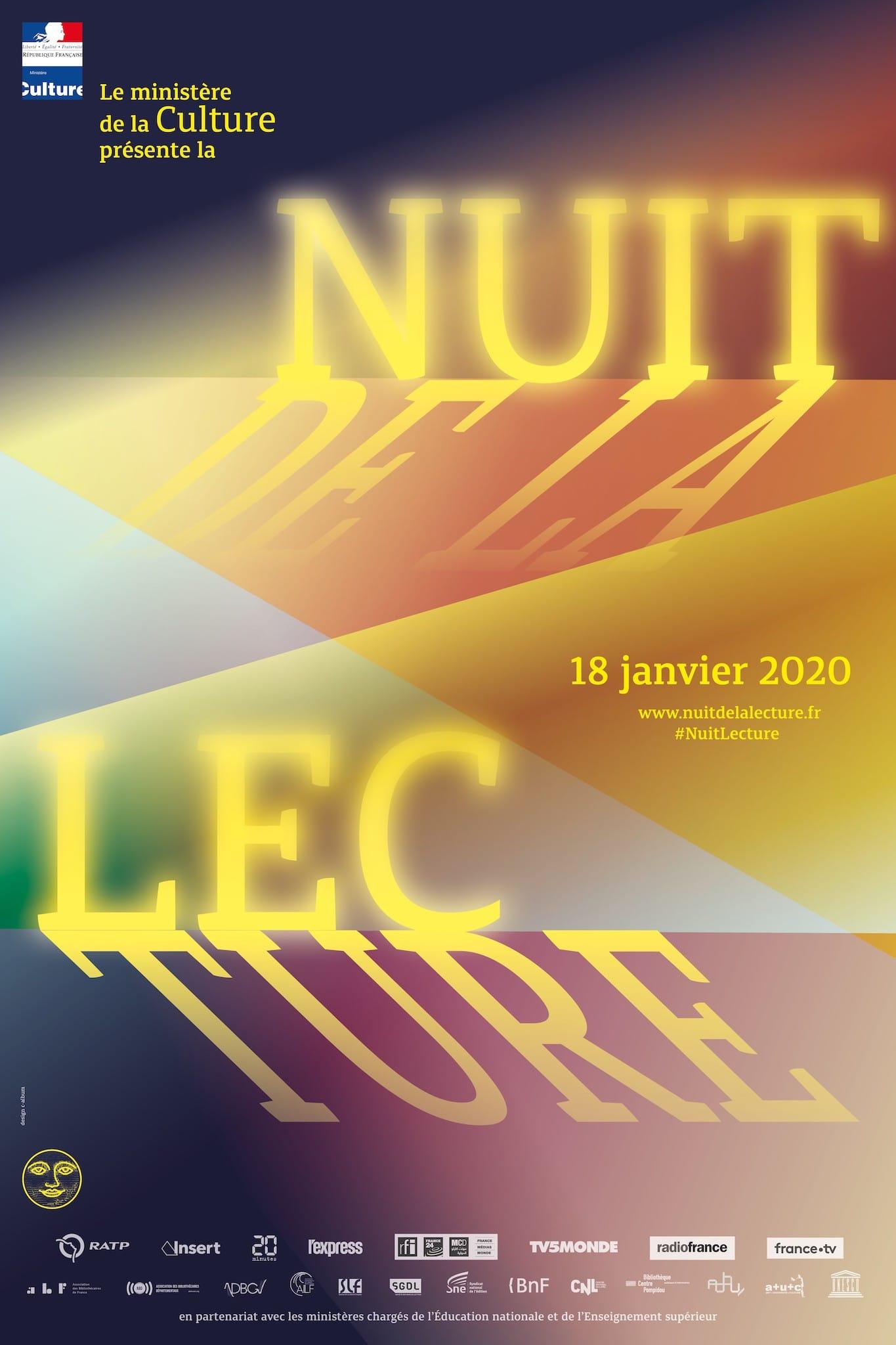 Nuit de la lecture affiche