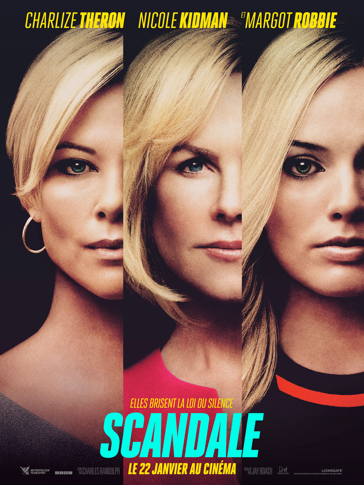 Scandale film affiche 2020 critique avis