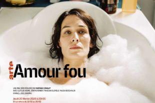 Amour fou de Mathias Gokalp affiche série télé