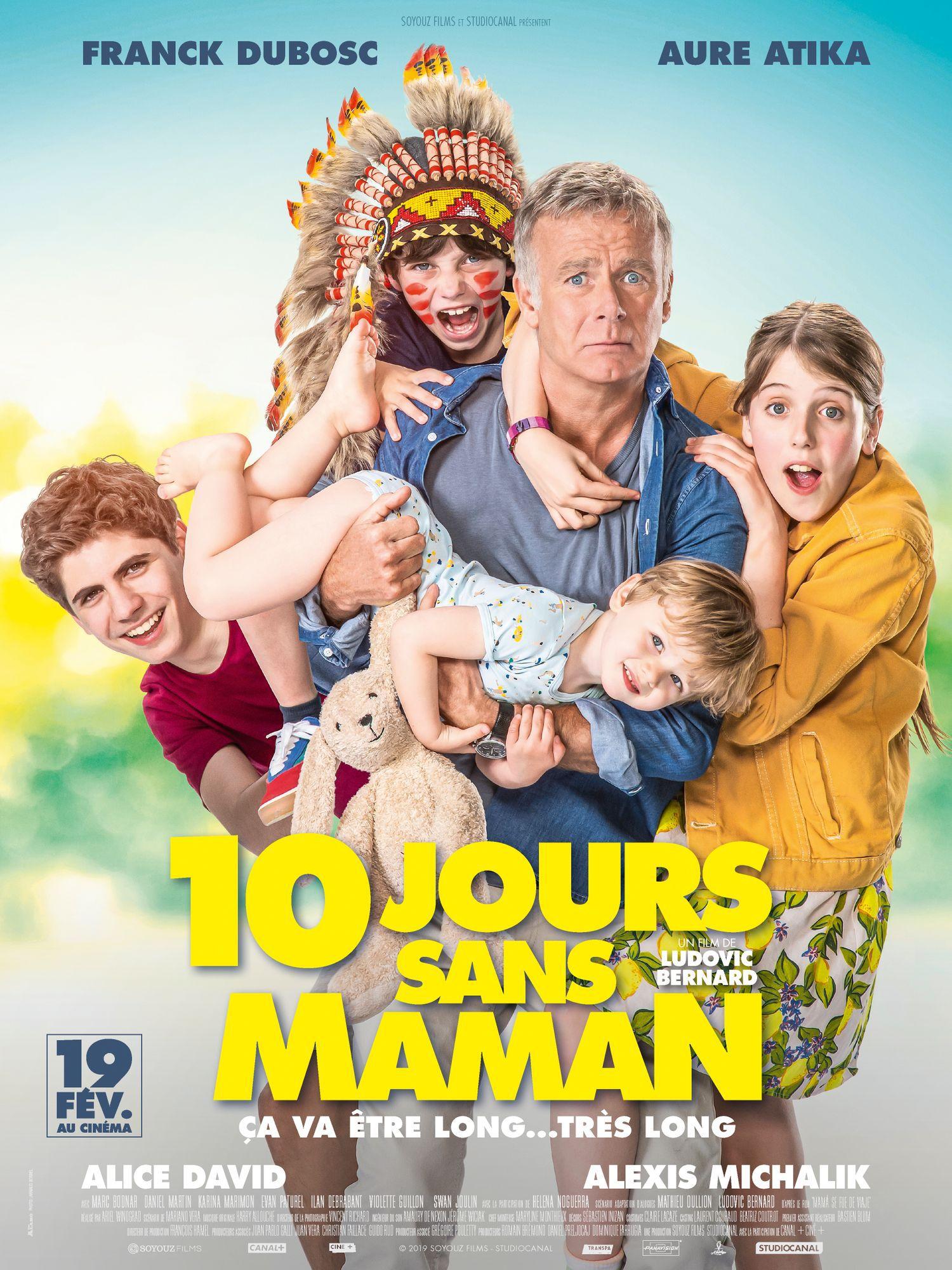 dix jours sans maman affiche film 2020
