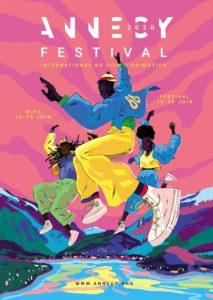 Festival d'Annecy 2020 affiche cinéma animation