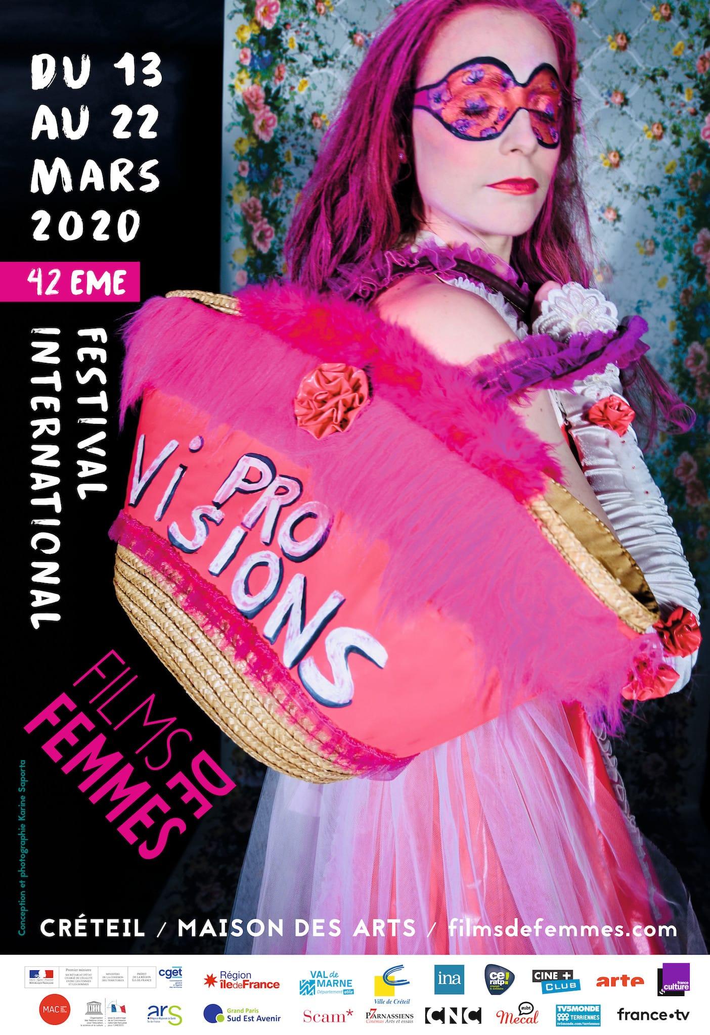 Festival International de Films de Femmes 2020 affiche fictions, documentaires