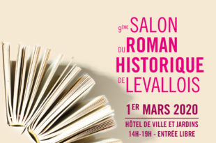 Salon du Roman Historique de Levallois 2020 affiche