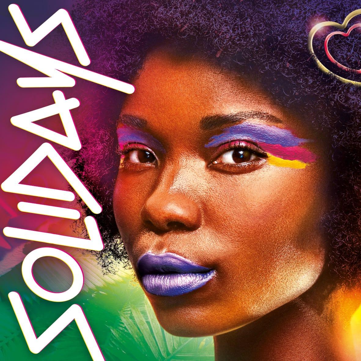 solidays 2020 affiche carré festival de musique