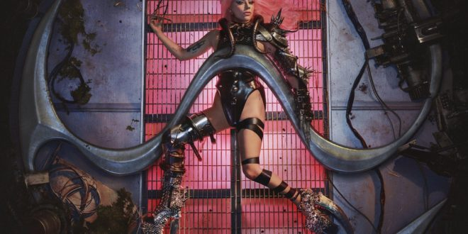 capture d'écran lady gaga album chromatica image pochette cover musique