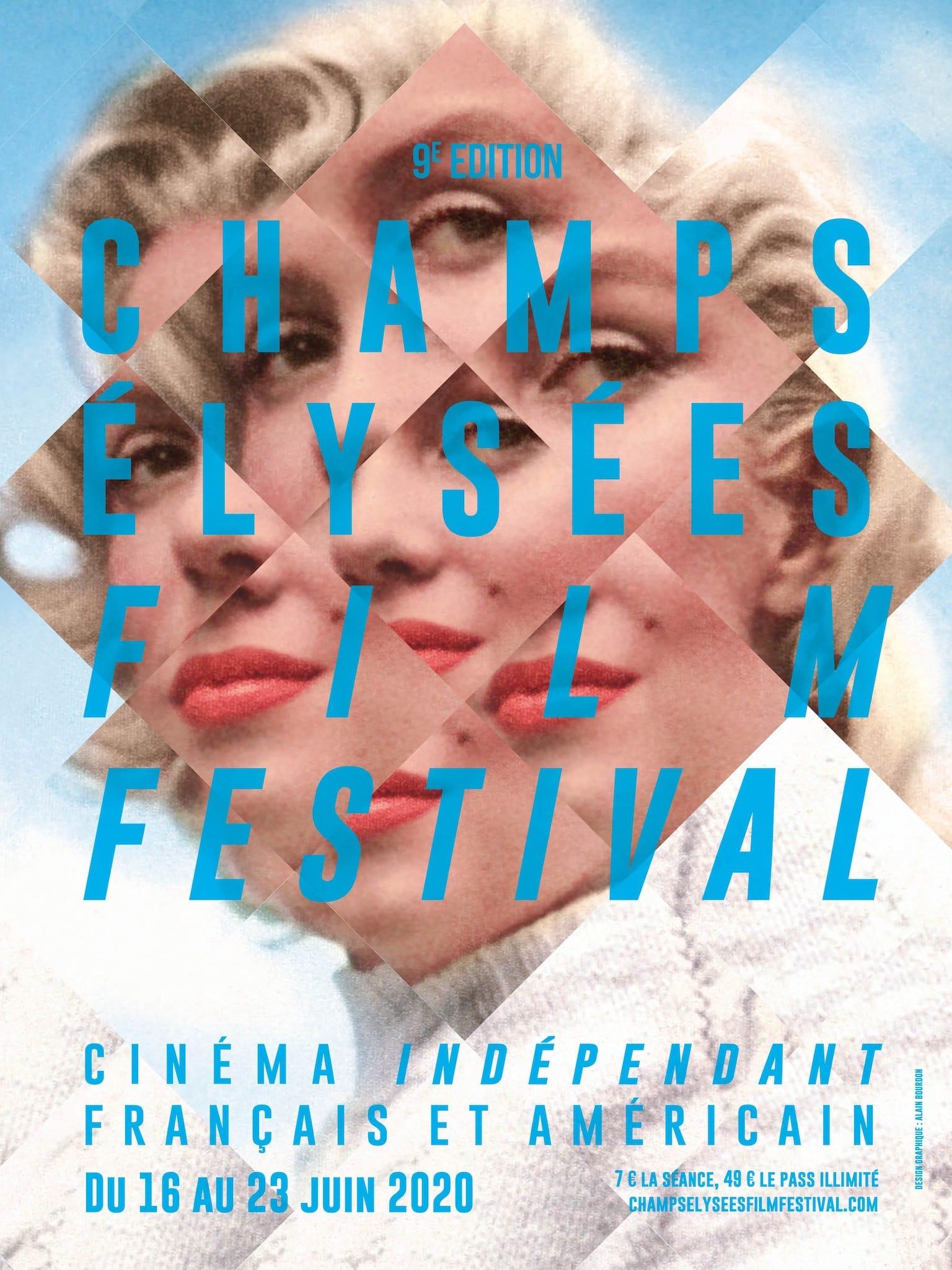 Champs-Élysées Film Festival 2020 affiche cinéma