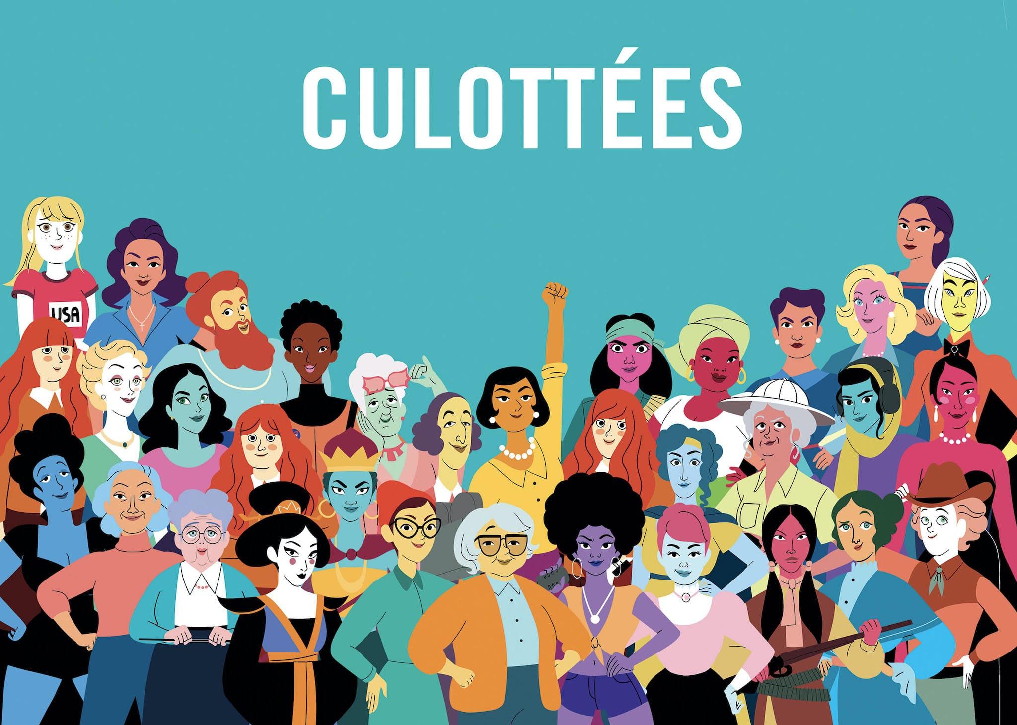 CULOTTEES affiche série animation télé
