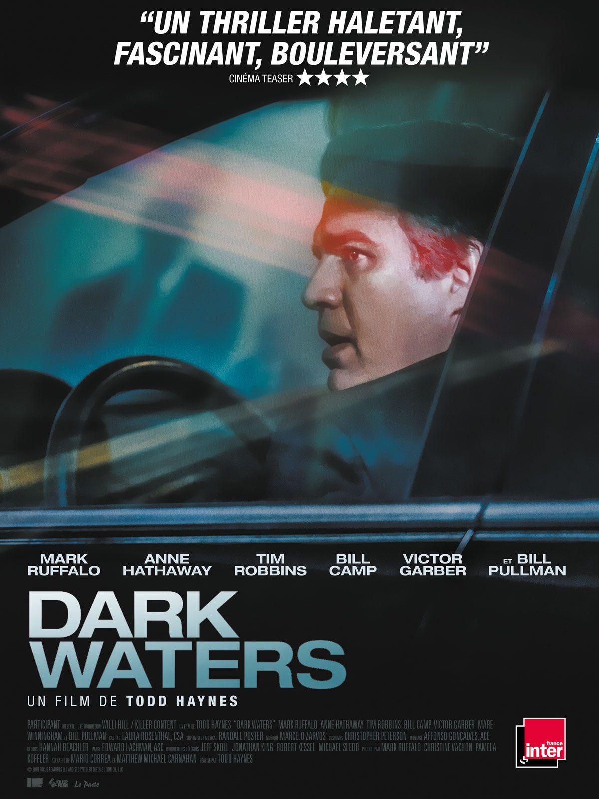 Dark Waters affiche film 2020 critique