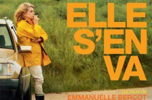 Elle s'en va d'Emmanuelle Bercot affiche film cinéma