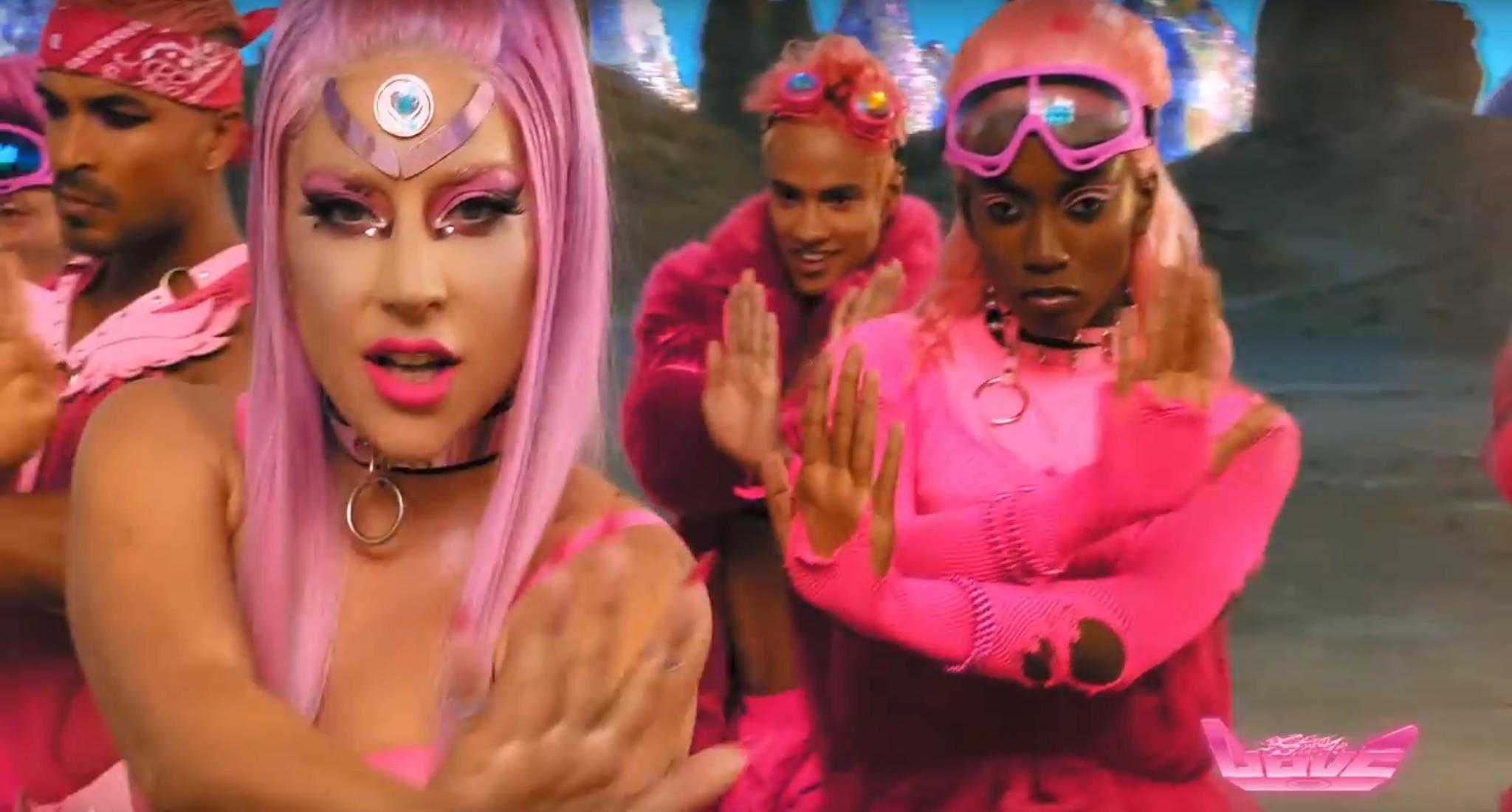 Lady Gaga - Stupid Love capture d'écran musique