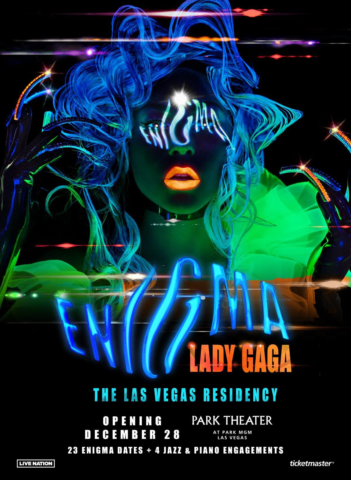 Lady Gaga au Park MGM Las Vegas