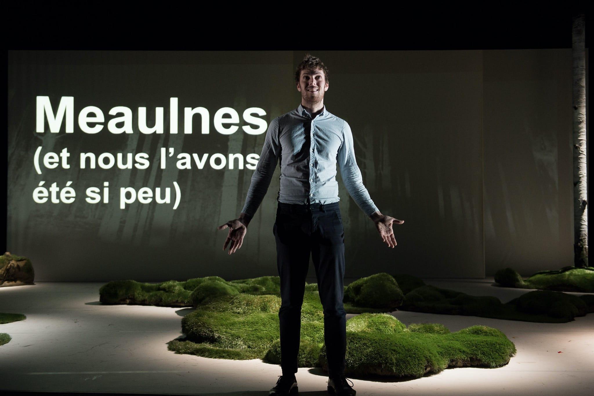Meaulnes (ET NOUS L'AVONS ÉTÉ SI PEU) photo théâtre contemporain