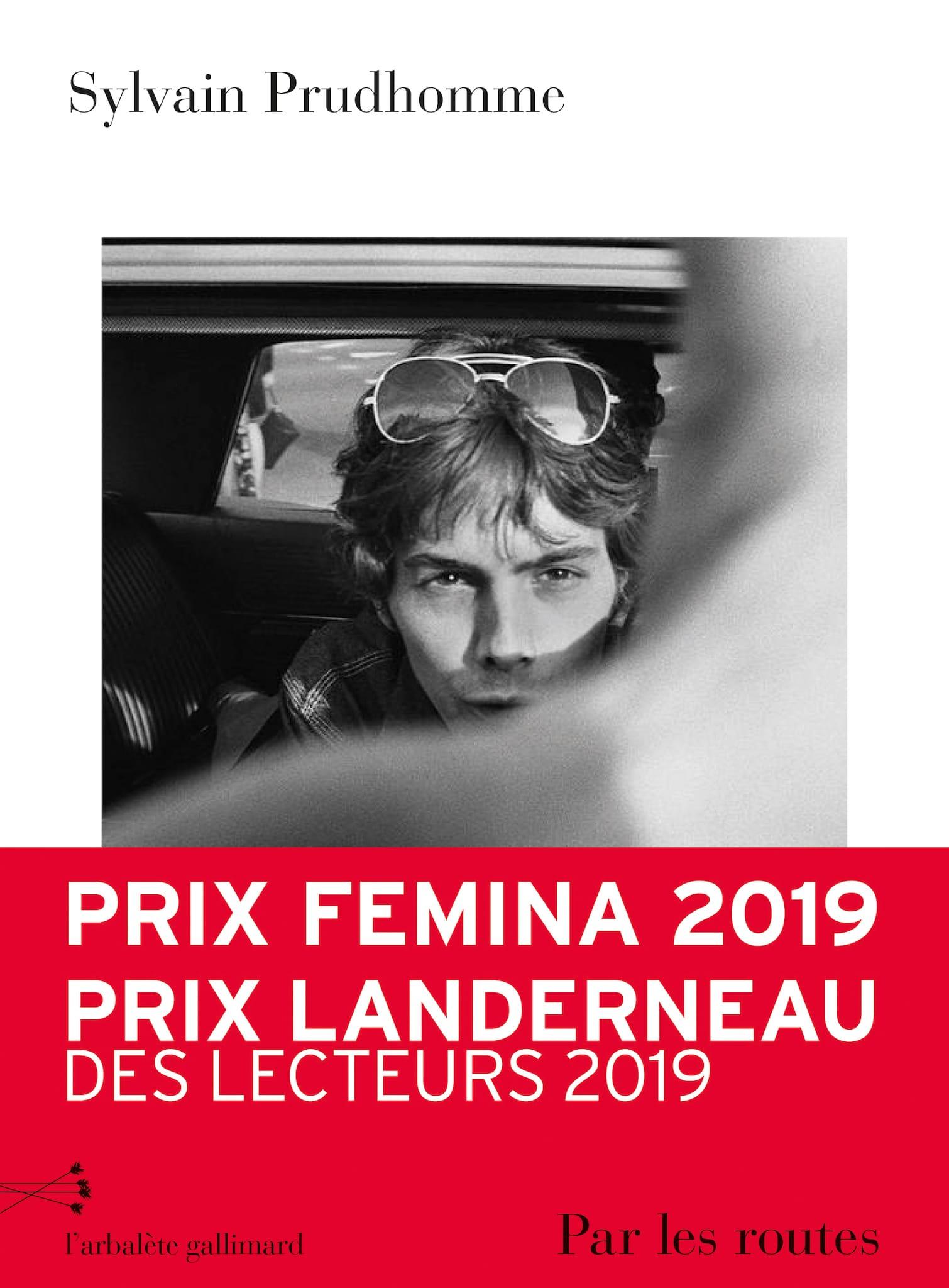 Par les routes de Sylvain Prudhomme image couverture livre roman