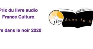 Prix du livre audio France Culture : Lire dans le noir 2020 qui récompense les meilleurs « livres à écouter »