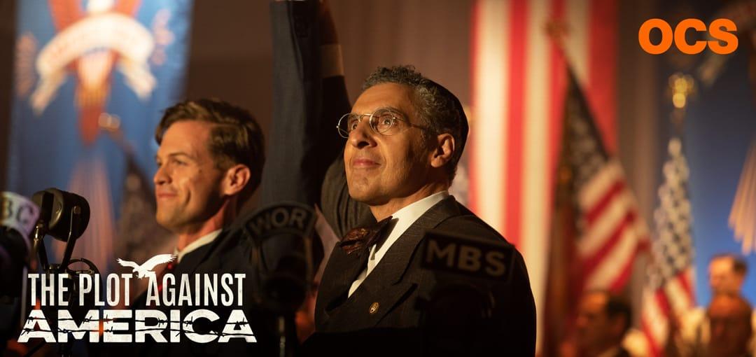 The Plot Against America de David Simon et Ed Burns affiche OCS série télé