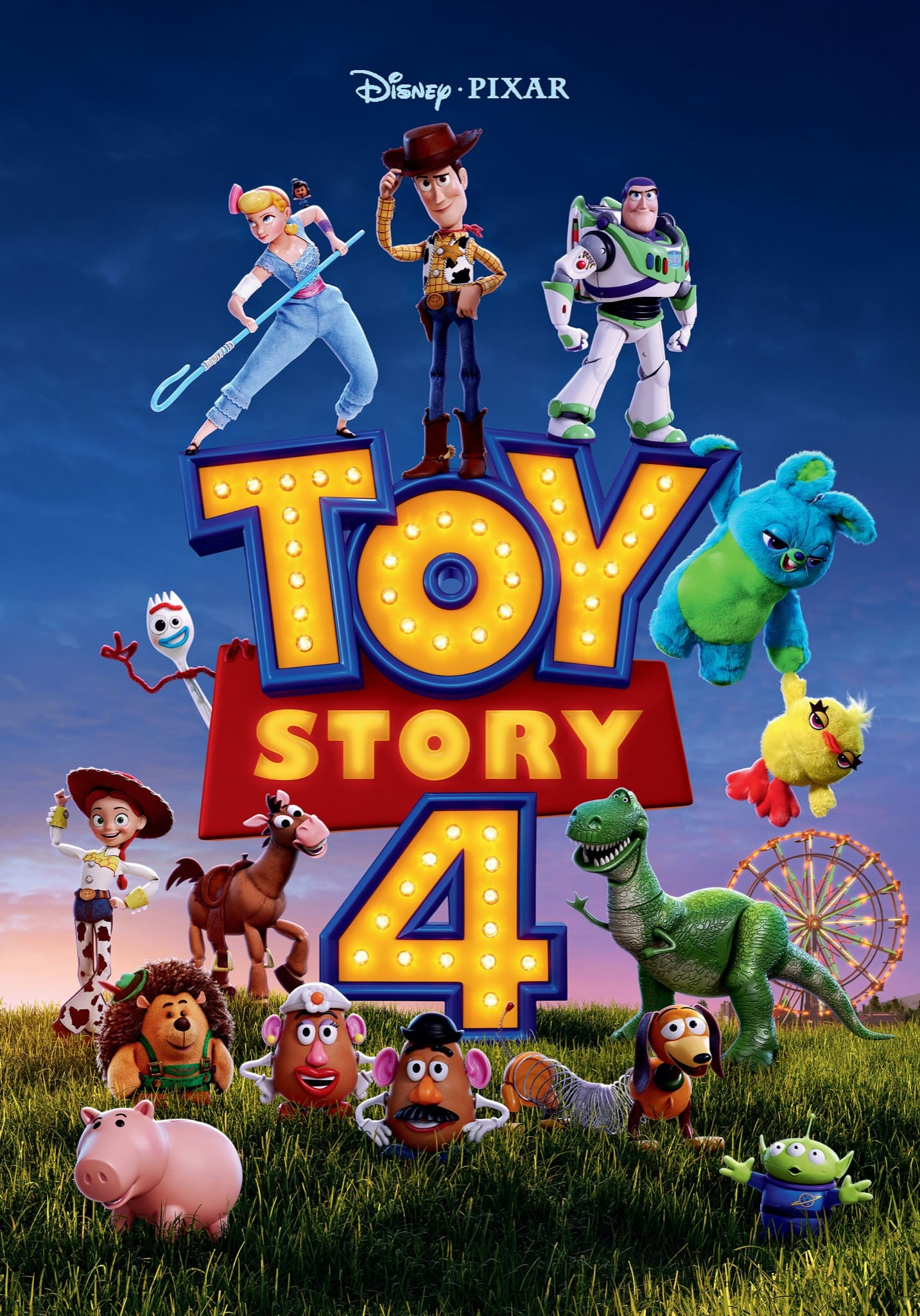 TOY STORY 4 de Josh Cooley affiche film cinéma
