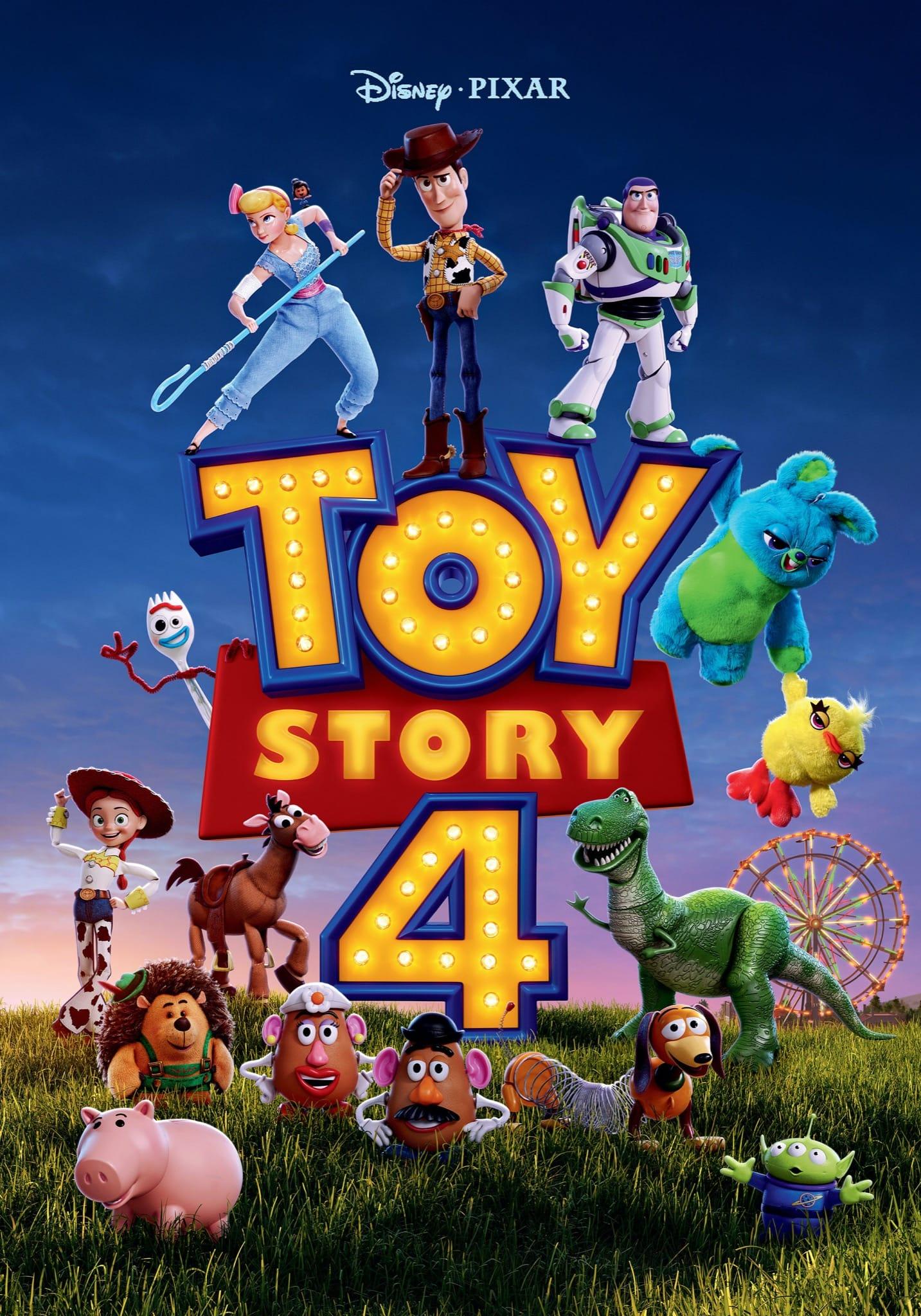 TOY STORY 4 de Josh Cooley affiche film cinéma