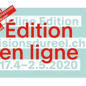 Visions du Réel 2020 en ligne affiche festival de cinéma documentaire
