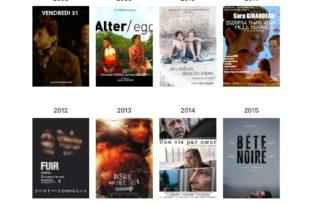 Capture d'écran Festival Les Hérault du Cinéma et de la Télé 2020 en ligne court-métrages