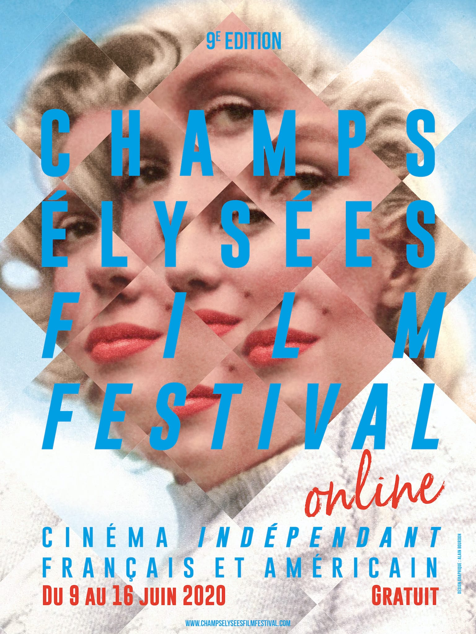 Champs-Élysées Film Festival 2020 online affiche cinéma