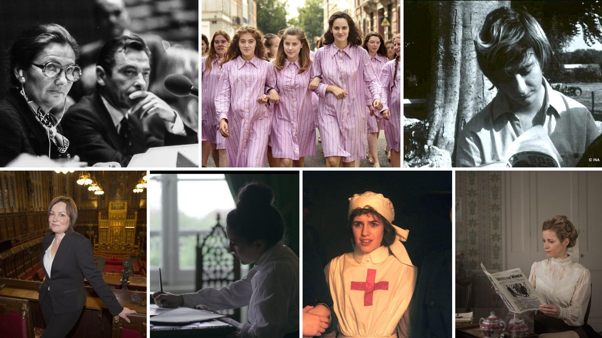 Cycle Nous les femmes sur Histoire TV images fictions, documentaires
