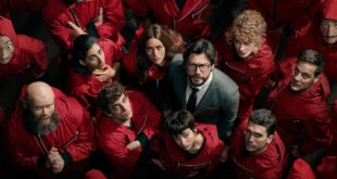 La Casa del Papel partie 4 Netflix affiche série