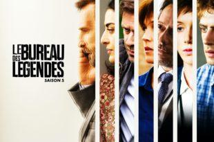 Le Bureau des Légendes saison 5 affiche série télé